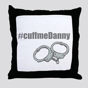 Cuff me Danny Throw Pillow