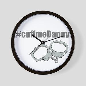 Cuff me Danny Wall Clock