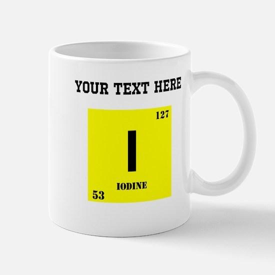 Custom Iodine Mugs