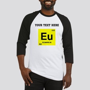 Custom Europium Baseball Jersey
