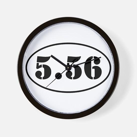 5.56 Shooter Design Wall Clock