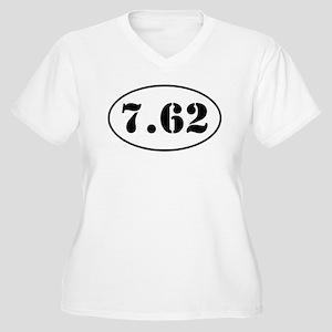 7.62 Shooter Design Plus Size T-Shirt