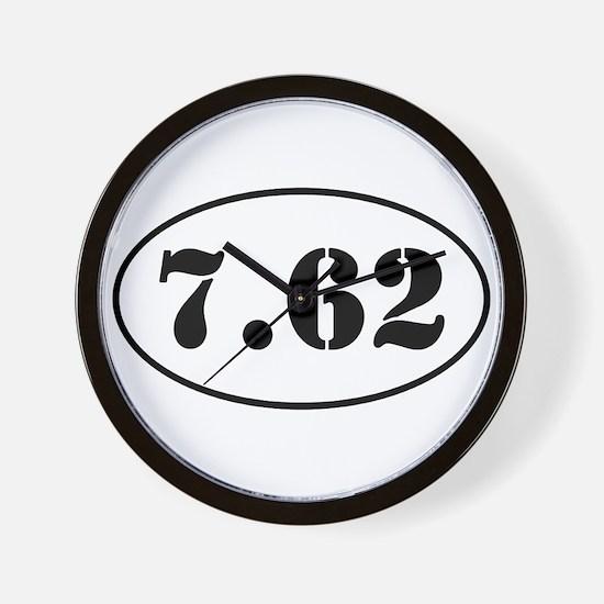 7.62 Shooter Design Wall Clock