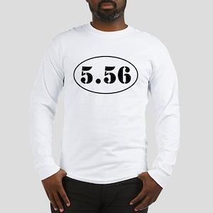 5.56 Shooter Design Long Sleeve T-Shirt