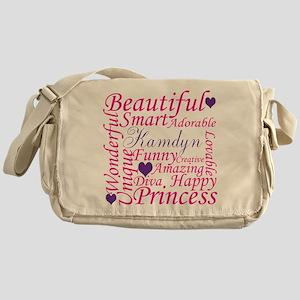 All about a girl Messenger Bag