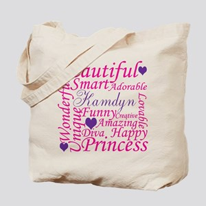 All about a girl Tote Bag
