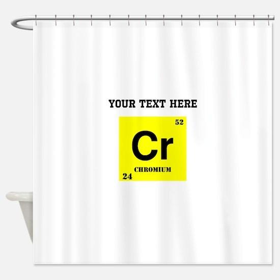 Periodic Table Chromium Tile Coaster648629122 Bathroom Accessories