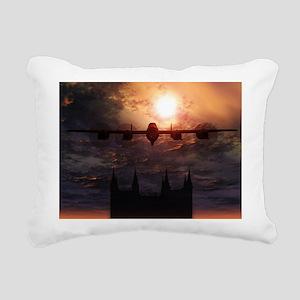 Lancaster Bomber Rectangular Canvas Pillow