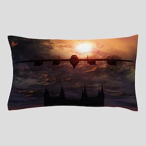 Lancaster Bomber Over Lincoln Pillow Case