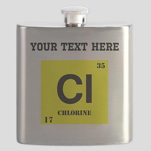 Custom Chlorine Flask