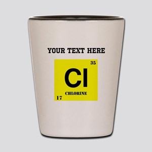 Custom Chlorine Shot Glass
