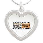 Abh Cedar Creek Silver Heart Necklace Necklaces