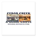 ABH Cedar Creek Square Car Magnet 3
