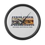 ABH Cedar Creek Large Wall Clock