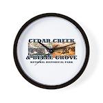 ABH Cedar Creek Wall Clock