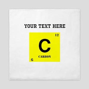 Custom Carbon Queen Duvet