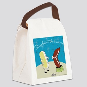 drivein Canvas Lunch Bag