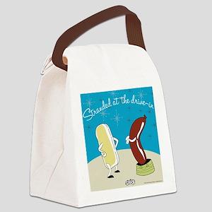 drivein Canvas Lunch Bag