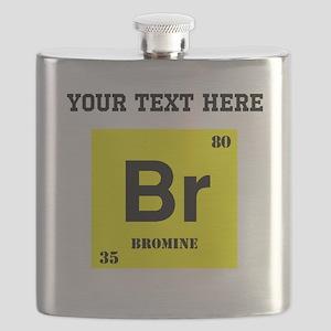 Custom Bromine Flask