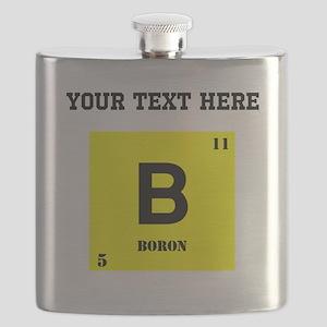 Custom Boron Flask
