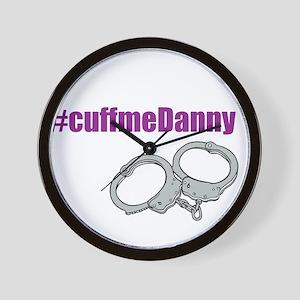 Cuff Me Danny alternate Wall Clock