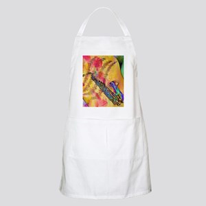 Colorful saxaphone Apron