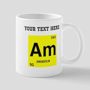 Periodic table americium home gifts cafepress custom americium mugs urtaz Image collections