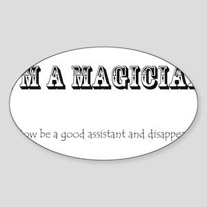 I'm a magician Sticker