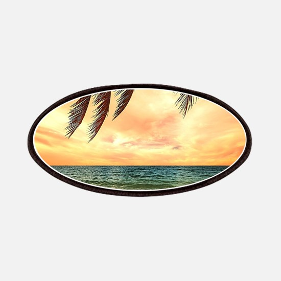 Ocean Sunset Patches