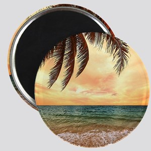 Ocean Sunset Magnets