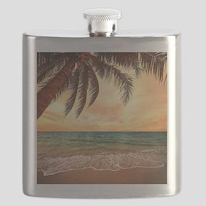 Ocean Sunset Flask