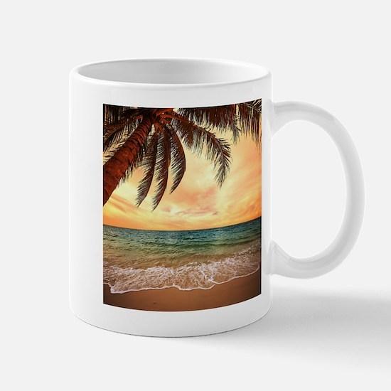 Ocean Sunset Mugs