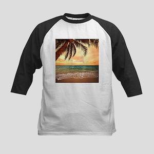 Ocean Sunset Baseball Jersey