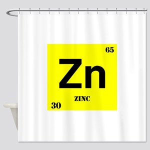 Zinc Shower Curtain