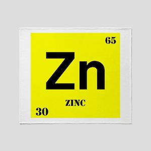 Zinc Throw Blanket