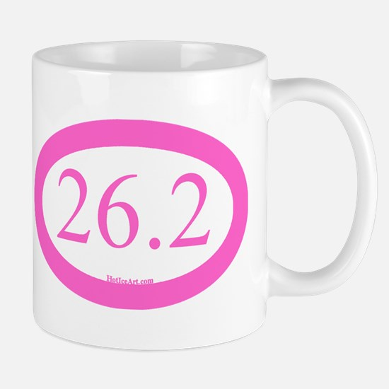 26.2 Running Oval Pink/Pink Mugs