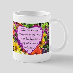 PSALM 118:14 Mug