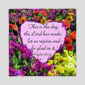 PSALM 118:24 Queen Duvet