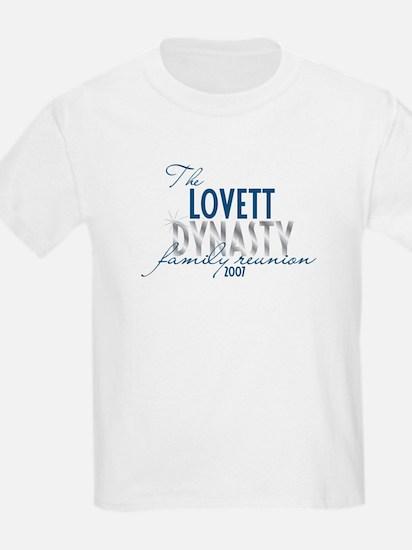 LOVETT dynasty T-Shirt