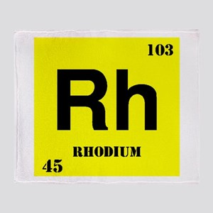 Rhodium Throw Blanket