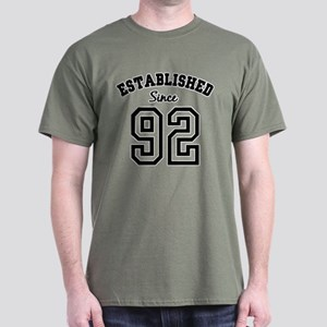 Established Since 1992 Dark T-Shirt