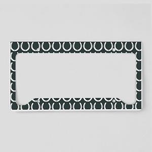 Horseshoe Pattern License Plate Holder