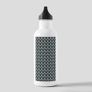 Horseshoe Pattern Stainless Water Bottle 1.0L