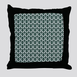 Horseshoe Pattern Throw Pillow