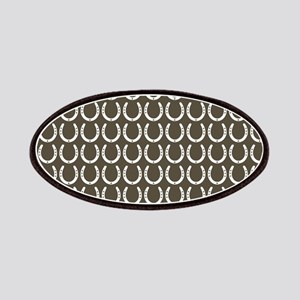 Horseshoe Pattern Patches