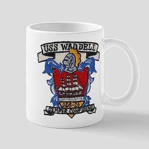 USS WADDELL 11 oz Ceramic Mug