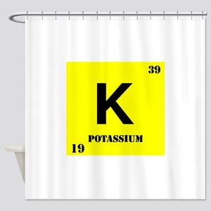 Potassium Shower Curtain