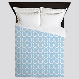 Horseshoe Pattern Queen Duvet