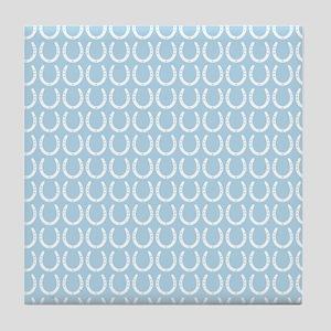 Horseshoe Pattern Tile Coaster