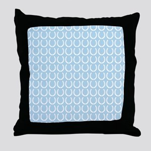 Horseshoe Pattern Throw Pillow